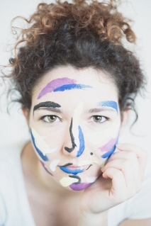 Federica ,Face painting project with Elena Ballini, 2017